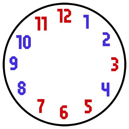 Image gallery reloj dibujos 8 - Reloj adhesivo de pared ...